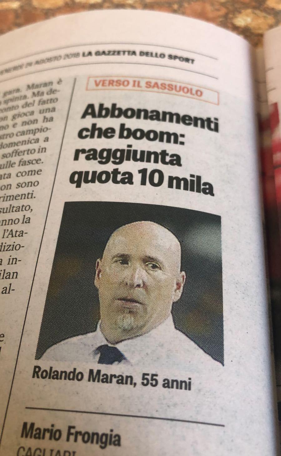 Cagliari Calcio - Campagna Abbonamenti 2018-2019