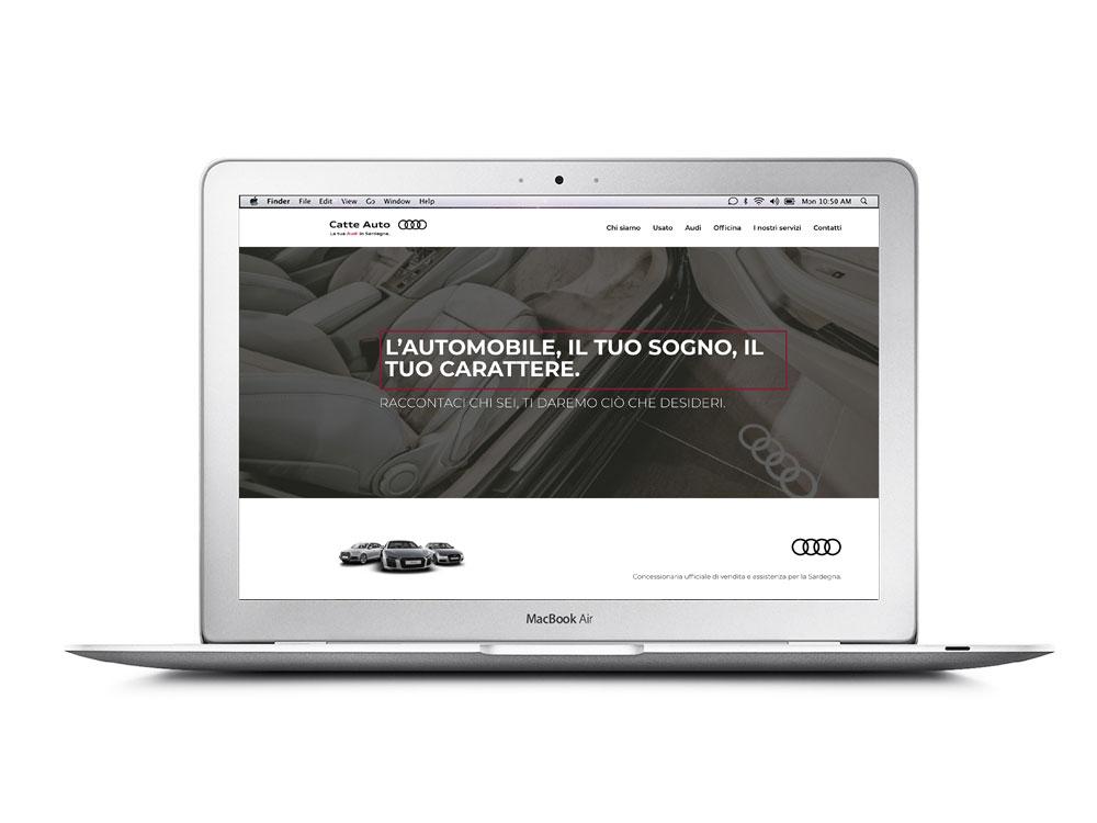 Catte Auto - website